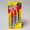 Super Glue 3pk 0.07 Oz/ 2gm Ea Tube Industrial Strength