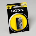 Batteries Sony Heavy Duty 9v 1pk Carbon Zinc #s-006p-b1a