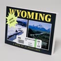 Postcards Book Of 21 Wyoming *7.95* #156313859x