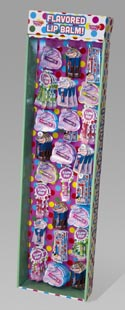 Lip Balm Flavored Gum Display #as-asgu-paml 150 Ct Power Panel