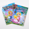 Book Coloring & Activity Princess Foil & Embossed In Pdq