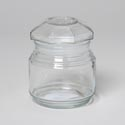 Glass Jar 8 Oz With Lid