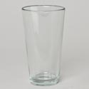 Drinkware 16oz Clear Pub Cooler Glass