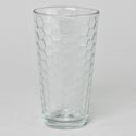 Drinkware 16 Oz Honeycomb Cooler Glass