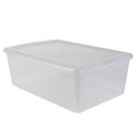 Storage Box 12.2qt Plastic Clear 10x16x16 *4.99*