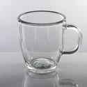 Coffee Mug 11.5oz Clear Glass London # 0367al