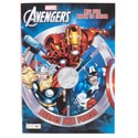 Coloring Book Avengers 96 Pages In 24pc Display Box