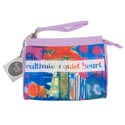 Cosmetic Bag Quiet Heart Cotton 8 X 6 (9.50)