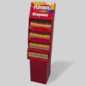 Playskool Crayons 24ct Power Wing 64pc Display Boxed