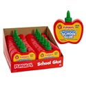 School Glue Playskool 8oz Apple Shape In 12pc Pdq *2.99* See N2