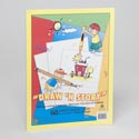 Draw & Story Pad With Cover 50 Sheets 9 X 12