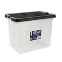 Portable Box 18qt Wing Lid Back/clear 10x10x11