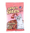 Cat Treats Pop'n Bites 2 Oz Salmon Flavor On 12pc Cnt Dspl #1123-1