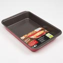 Bakeware Oblong Baking Pan Red Bakers Secret 9x13 *6.99*