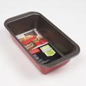 Bakeware Large Loaf Pan Red Bakers Secret 11.2x6.9x2.6*6.99*