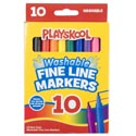 Playskool Markers 10ct Fineline Washable Window Boxed