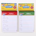 Playskool Dry Erase Spiral Learning Board 2 Assorted See N2