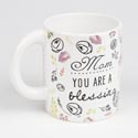 Mug Ceramic Barrell 12 Oz Mom You Are A Blessing (5.00) # 11819