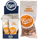 Nuts Honey Cashews 1.5 Oz 12 Pc Counter Display