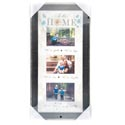 Photo Frame 24.5x12.5 Matted Mdf 3-4x6opening In This Home(30.00) Collage Frame