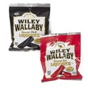 Candy Wiley Wallaby Licorice Shipper 2 Asst Flavors 4 Oz Bag