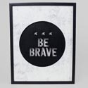 Wall Decor 11x14 Be Brave Lighted Led Mdf (17.50) # 121562