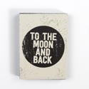 Magnet Block To The Moon & Back 3x3.75 Mdf (3.00)