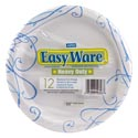 Paper Plates 12ct Heavy Duty Easy Ware 8.6inch Printed Design