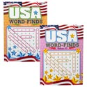 Word Find Usa 96pg 2 Title In 24pc Counter Display Made In Usa