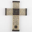 Cross Wall 10in Poly Resin John 14 (14.00) # 1308