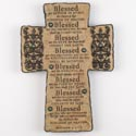 Cross 10 In Poly Resin Beatitudes (14.00)