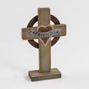 Cross 6x9.25 Wooden Friends Standing (7.50)
