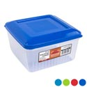 Food Storage Cont Sq 4.75 Inch 3.5qt Dome Top 4 Colors In Pdq #1329