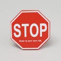 Cubical Sign Stop Wooden 4 X 4 (2.50)