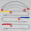 Dog Choke Chain & Leash 6 Asst 2 Leashes & 4 Choke Chain
