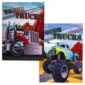 Color/activity Book Tough Truck 80pg In Pdq 2asst Ppd $4.95