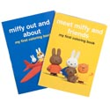 Miffy Giant Coloring - 2 Asst 80 Pgs In Pdq