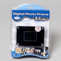 Digital Photo Frame 2.4in Screen Ac Adapter Incl Portable (16.50) Clam Shell Peggable