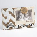 Picture Clip 11.75x7.25 Loves Me Wooden W/4x6 Opening (6.50)