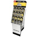 Batteries Sony Heavy Duty Dsply 5 Assorted 201pc Shipper See N2