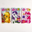 Board Books 5x8 Die Cut 3asst My Little Pony *1.00*