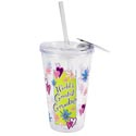 Tumbler Insulated 16 Oz Grandma Acrylic W/straw (4.75)