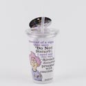 Tumbler Insulated 16oz Do Not Disturb Acrylic W/straw (4.75) # 16271