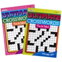 Crossword Puzzle Book Ultimate 2 Asst In Pdq 96 Pg #312 Made In Usa Ppd $3.95