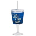 Goblet Insulated 12 Oz Sun And The Sand Acrylic (4.50)