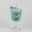 Goblet Insulated 12 Oz Liquid Diet Acrylic (4.50)