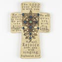 Cross 10in Poly Resin Zephaniah (14.00)