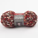Yarn City Life 140 Yds 1.75 Oz Red Hot *4.99* #cl-11