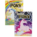 Color/activity Book My First Pony 80pg 2asst In Pdq Ppd $4.95