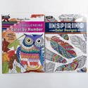 Coloring Book Adult 32pg 2asst Random Designs In Pdq Ppd $3.95